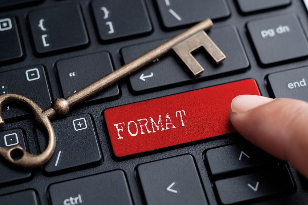 bilgisayarınıza format atma yöntemleri