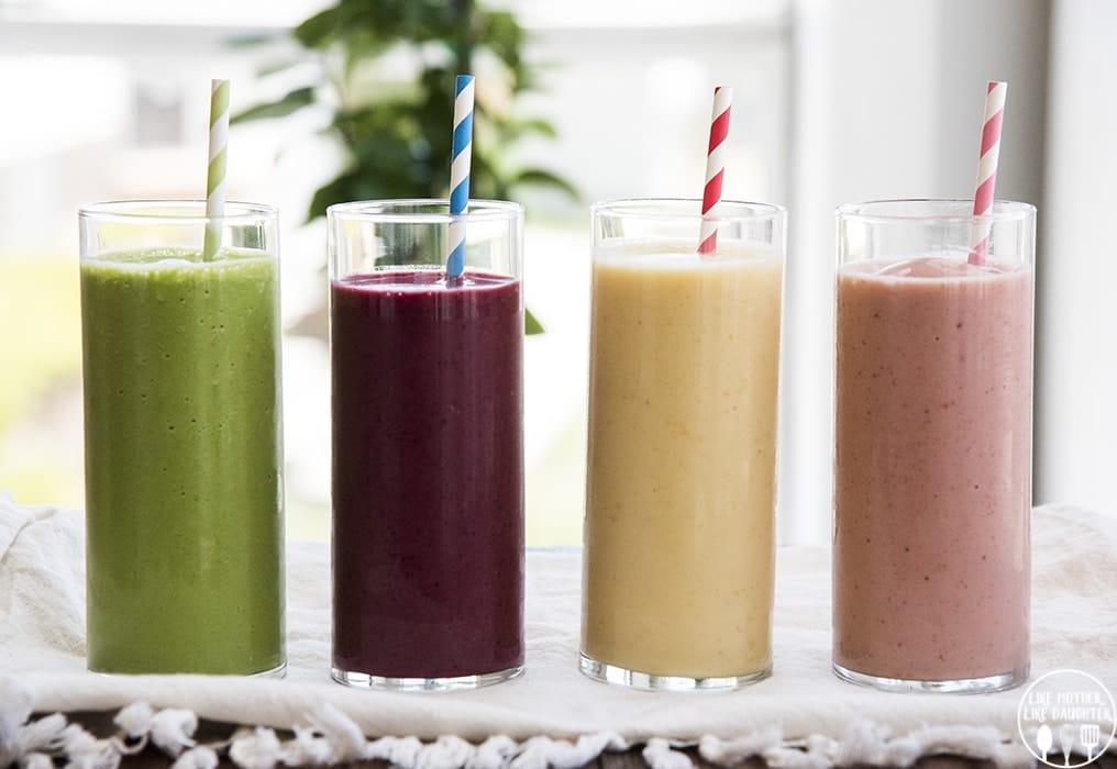 5 Sağlıklı Smoothie Tarifi