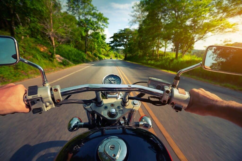 Motosikletle tatile gitmek